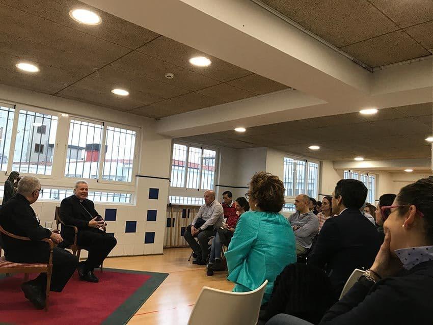 El obispo D. Mario Iceta visita Umedi